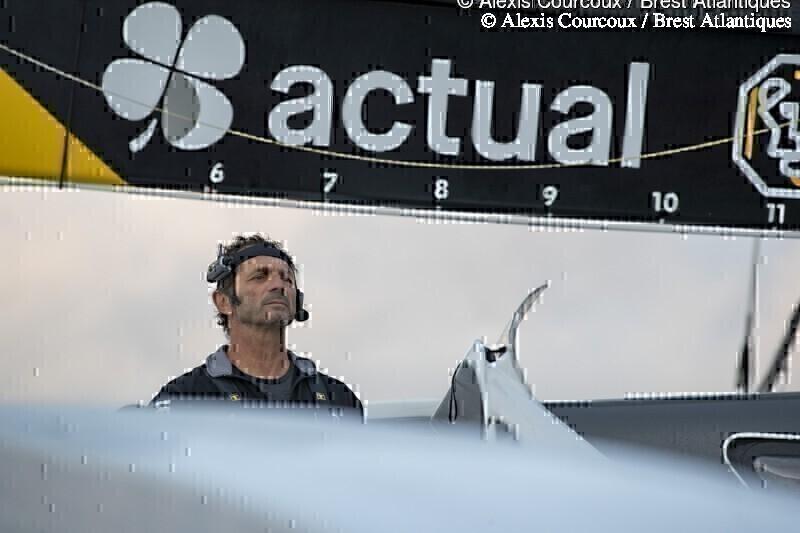 Arrivée Actual Leader à Brest - Brest Atlantiques 2019 : Arrivée Actual Leader à Brest - Brest Atlantiques 2019 © Alexis Courcoux / Brest Atlantiques